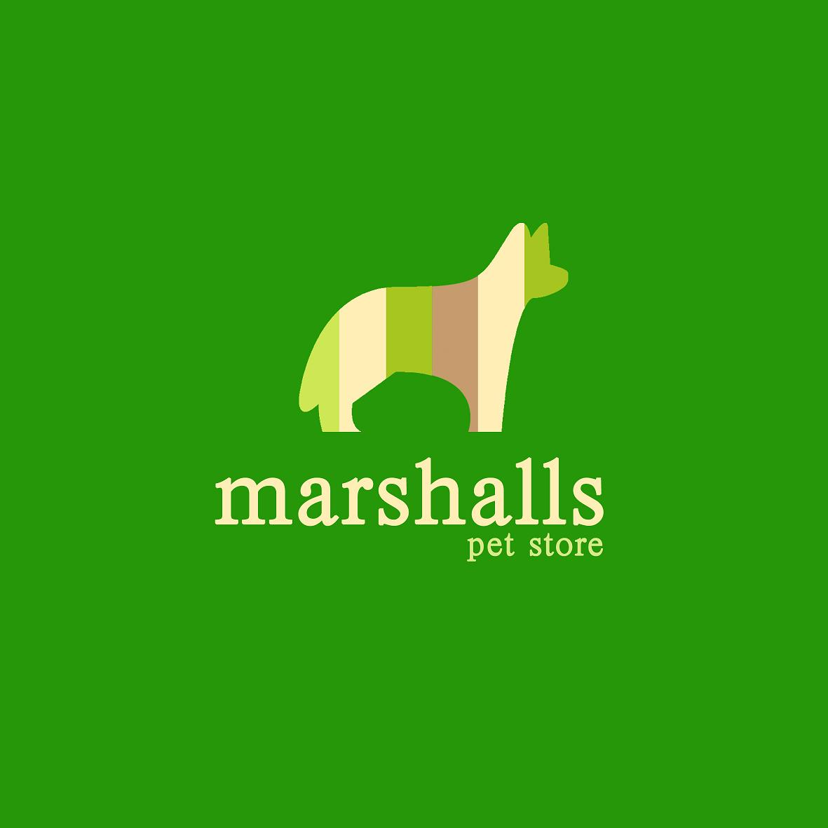 Graphic Design by hellorex for Logo for Marshalls Pet Store - Design #4998