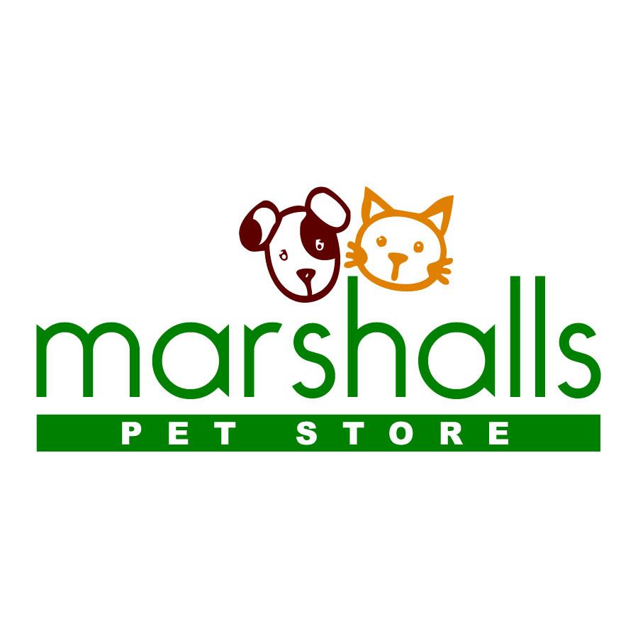 logo design design for marshalls pet food store ltd a
