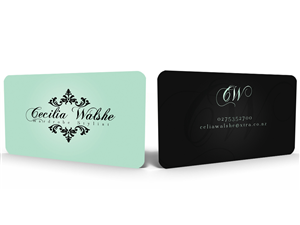 Business Card Design by Hardcore Design - wardrobe/costume stylist needs good business ca...