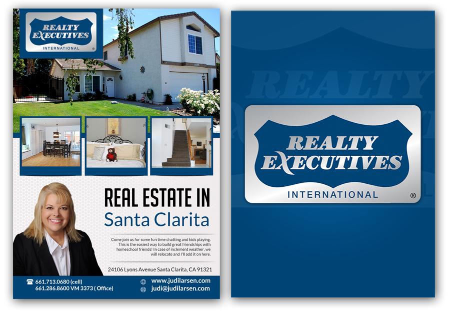 real estate flyers design