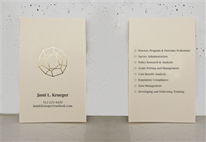 Business Card Design by Poonam Gupta - Business Card Design
