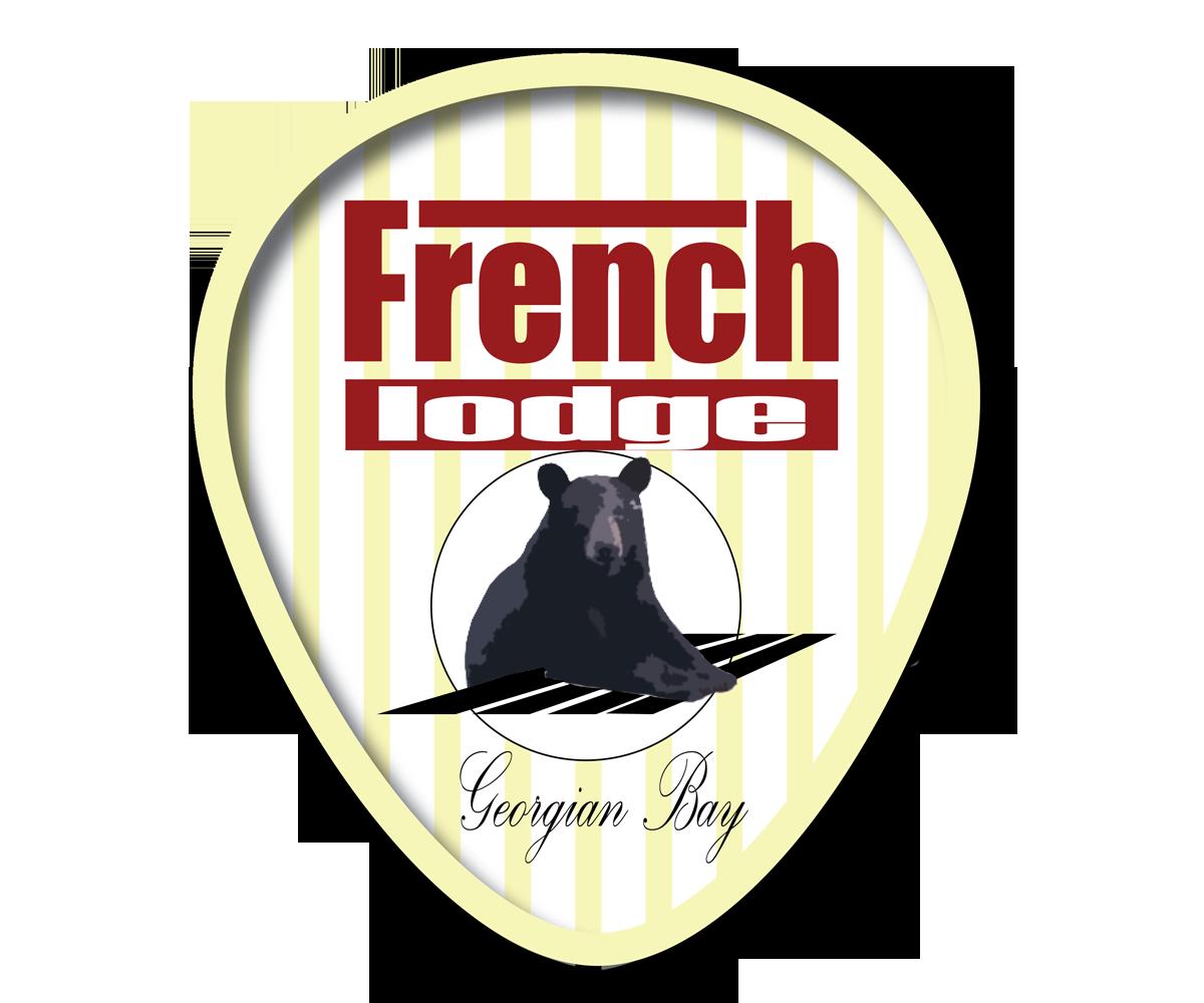L Gant Amusant Logo Design For The French Lodge Company