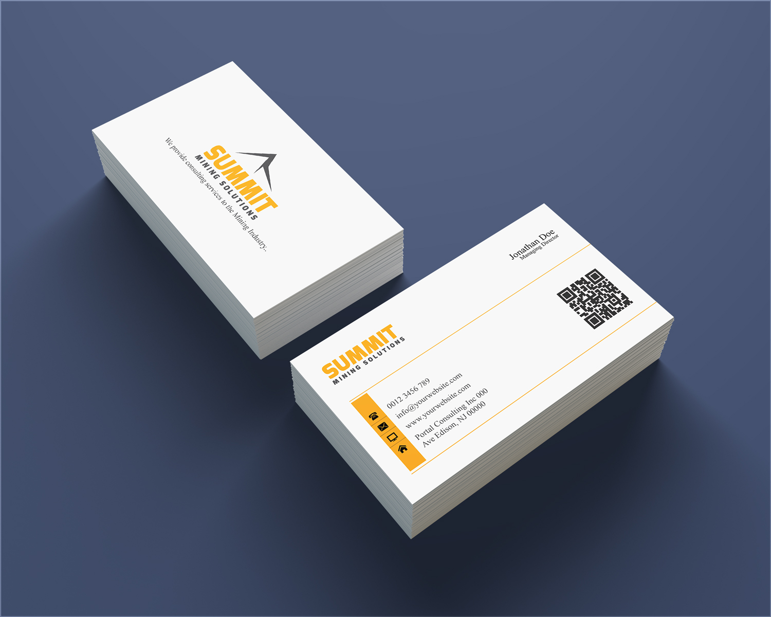 Business card design for greg moore by lanka ama design 4675248 business card design by lanka ama for summit mining solutions business card design 4675248 reheart Choice Image