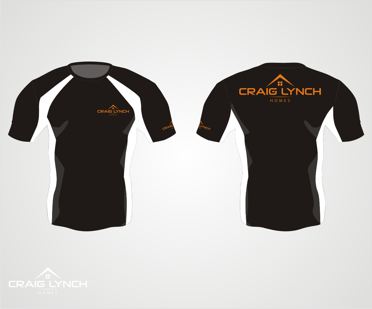 Professional, Upmarket, Home Builder T-shirt Design for a Company by ...