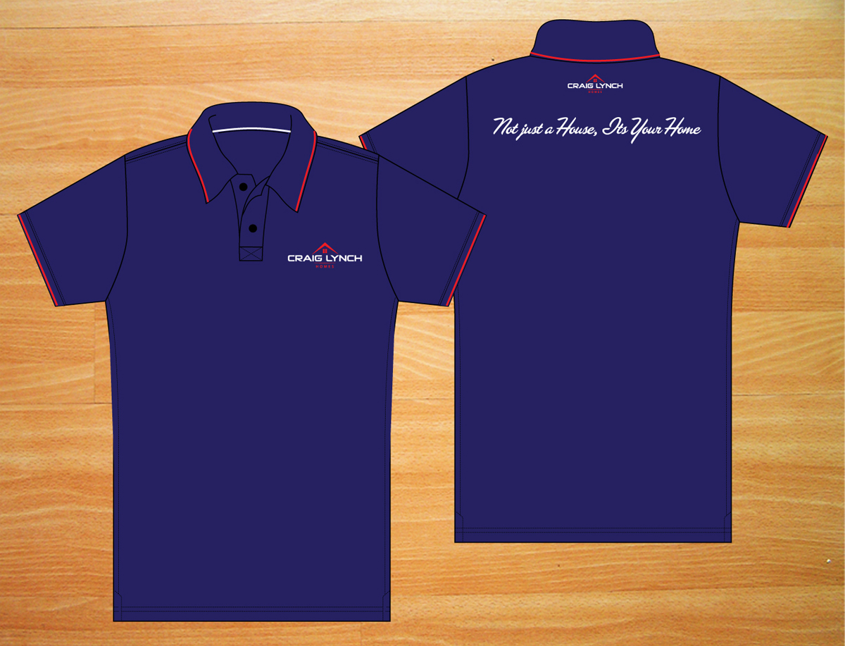 Professional upmarket t shirt design for craig lynch by for Custom graphic design t shirts