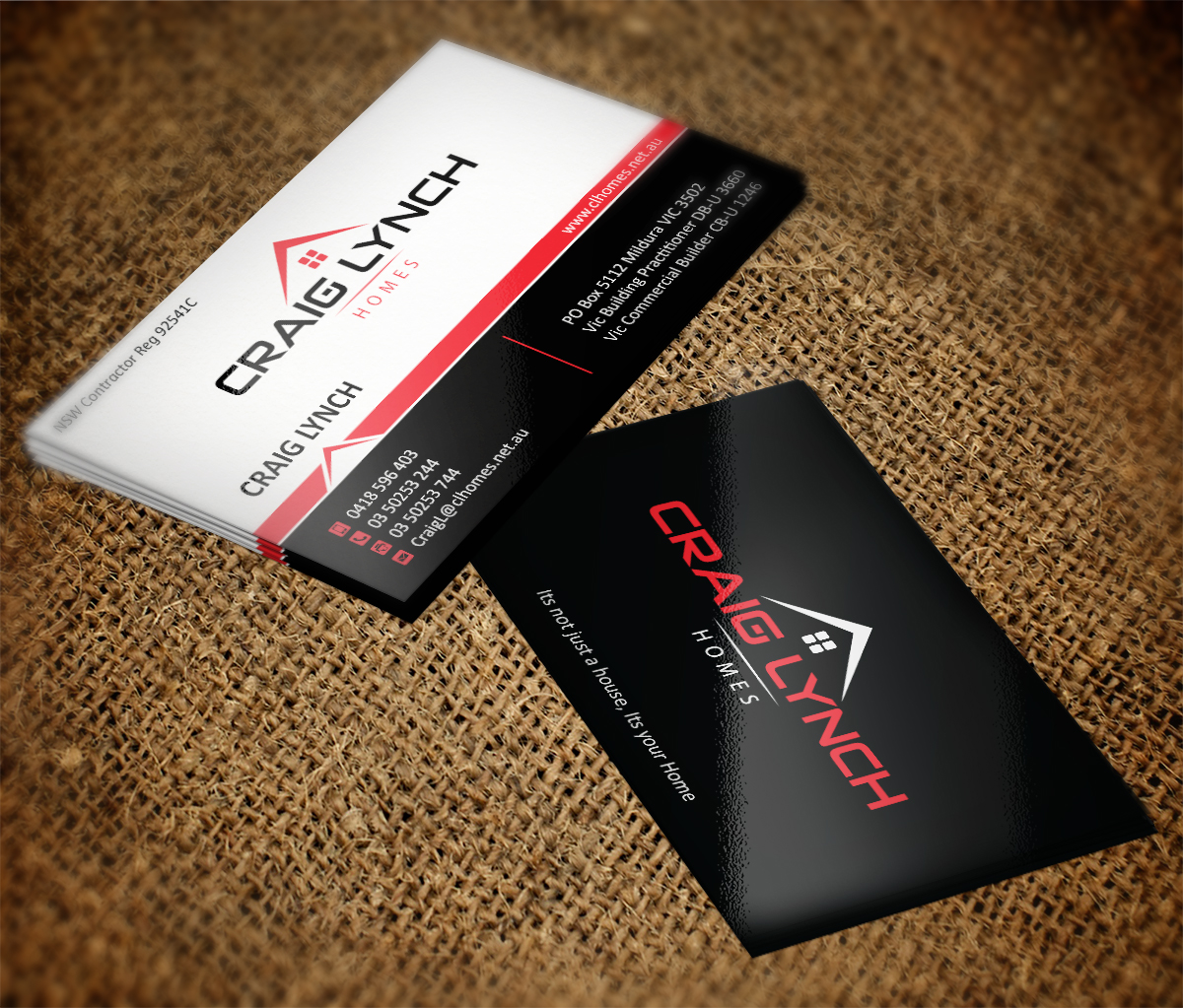 Business Card Design By MT For Business Card Design Project For New Home  Builder   Design