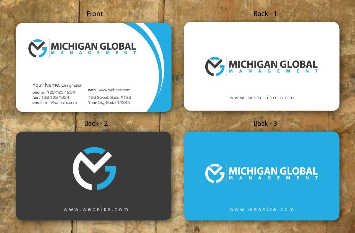 Elegant playful property management business card design for business card design by sbss for michigan global design 1300769 colourmoves