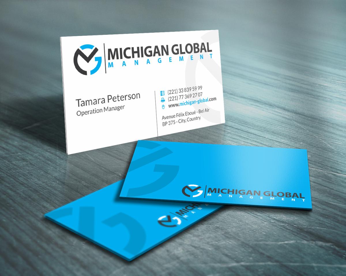 Elegant playful property management business card design for business card design by hypdesign for michigan global design 1295180 colourmoves