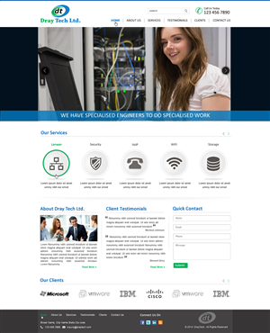 Web Design by harmi_199 - IT Service Provider
