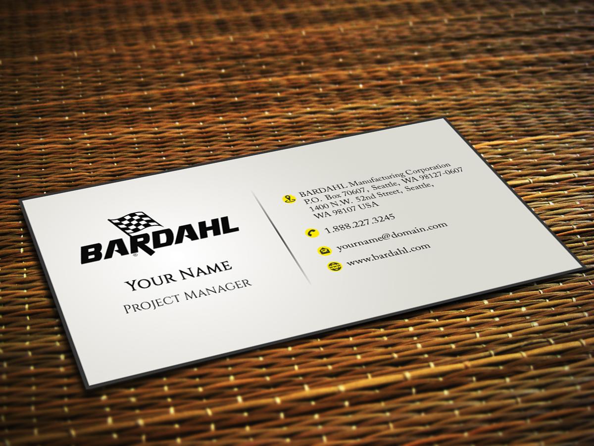 Automotive Business Card Design for a Company by DesignDe | Design ...