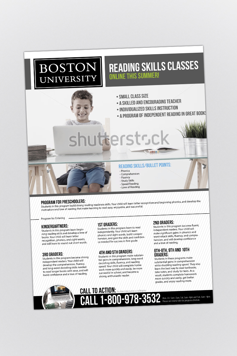 graphic design flyer design for a company by phobos design 4641806