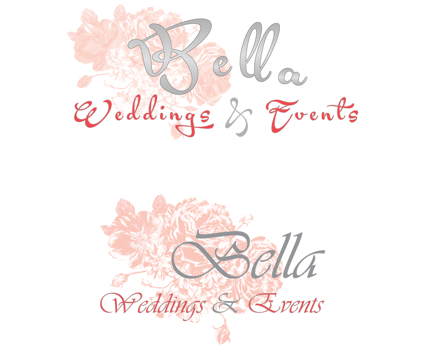 Elegant Playful Wedding Logo Design For A Company In United States