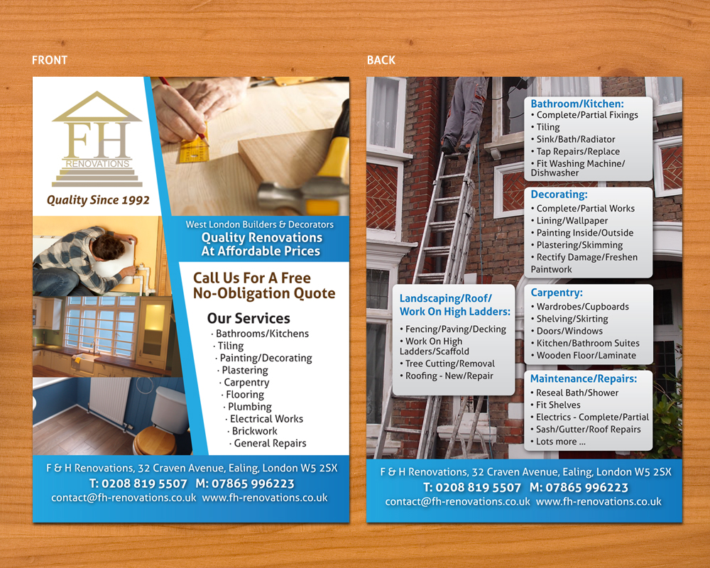 Professional Serious Flyer Design For Stephan Robson By