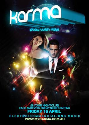 Flyer Design by disign - New Club Night Flyer