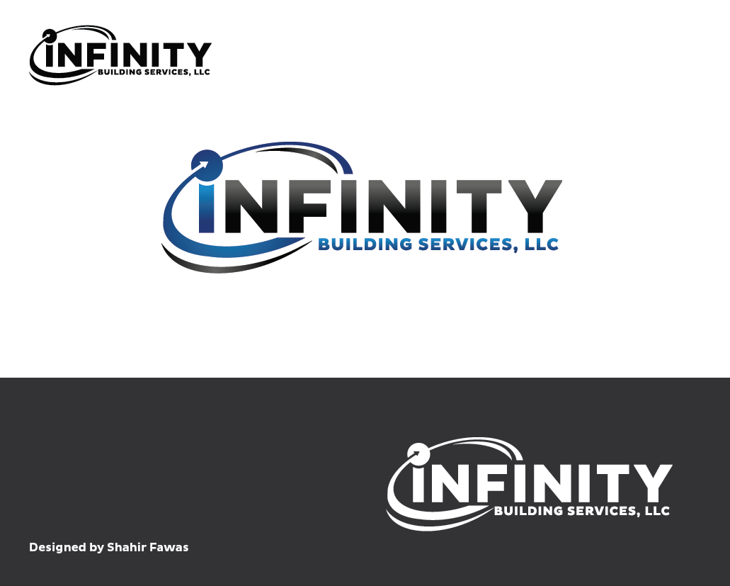 Air Conditioning Design De Logo For Infinity Building