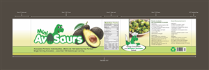 Packaging Design by Ample Designs - Mini Avo Saurs