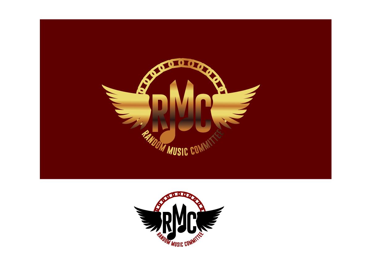 logo design by kimdesigner brilliant webdesign for random music committee design 4598913