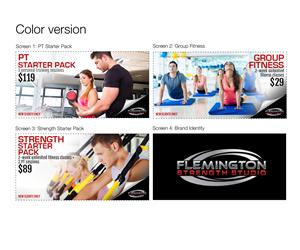 Banner Ad Design by Cordero Producciones - Boutique personal training and fitness studio - ...