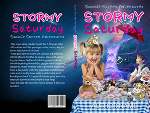 Book Cover Design by illuminati-design - Sammie Street Adventures - Stormy Saturday - Ne...