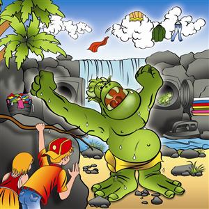 Illustration Design by  Artist Sundar - Sammie Street Adventures - Stormy Saturday - Ne ...