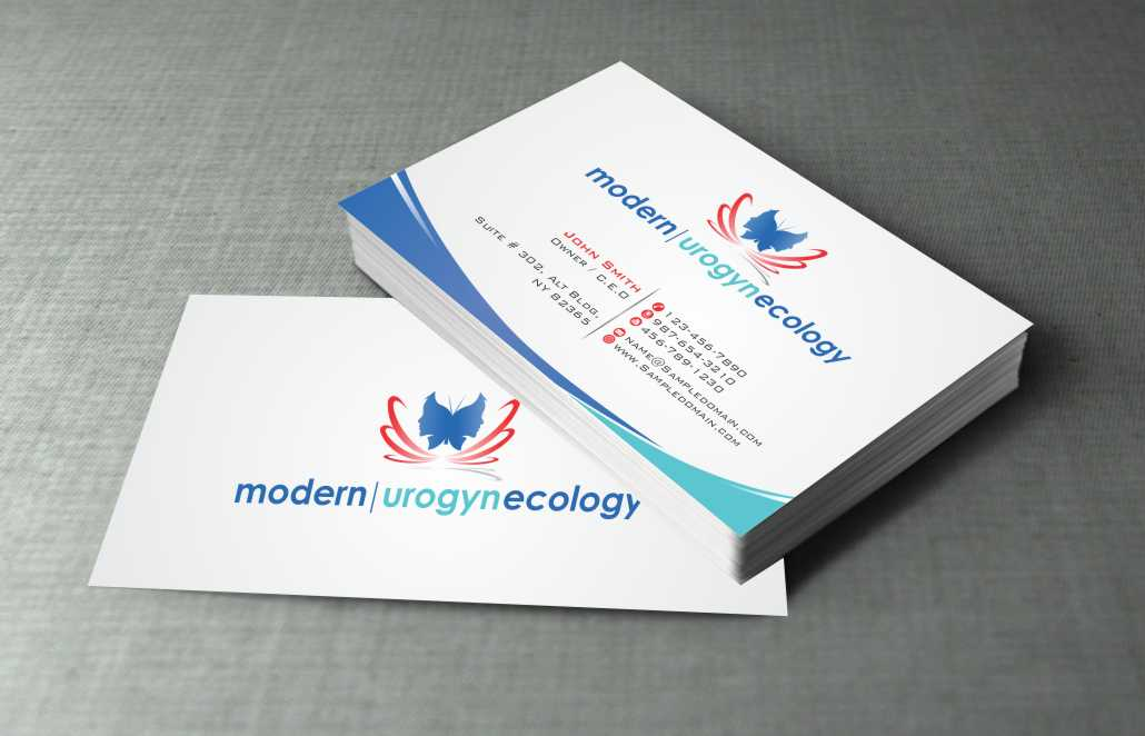 Modern, Professional Business Card Design for Modern Gynecology ...