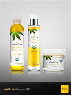 skin care product label design galleries for inspiration
