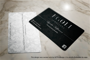 Business Card Design by MT - Business Card Design Project