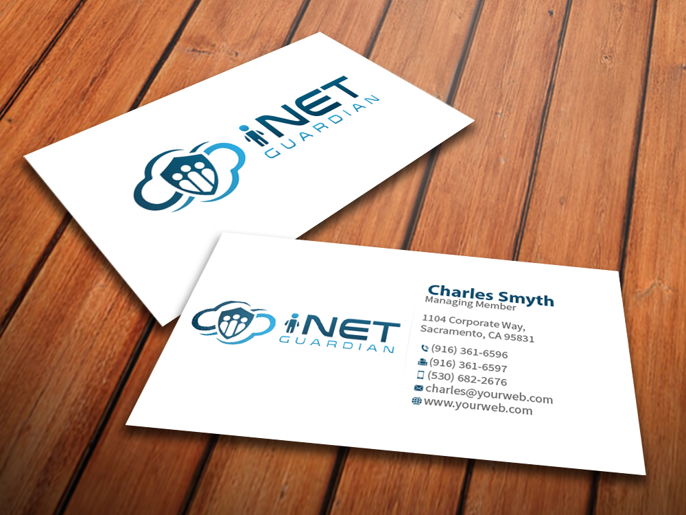 Professional serious internet business card design for a company business card design by mediaproductionart for this project design 4763299 colourmoves