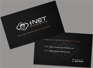 Computer security business card designs 9 computer security cloud based internet protection service business cards business card design by acg reheart Choice Image