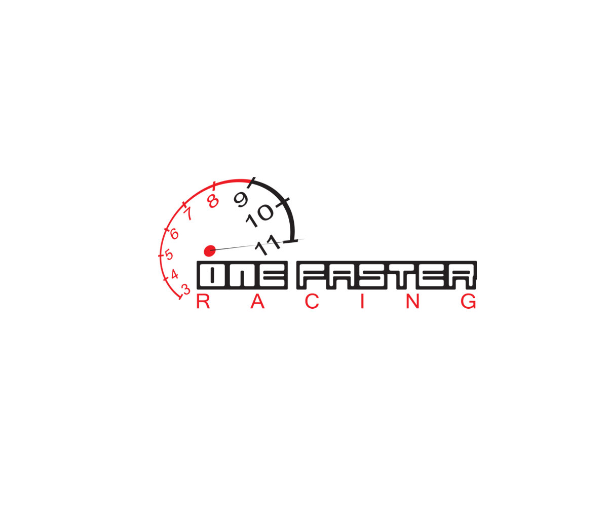 racing logo design for one faster racing by putrirere30