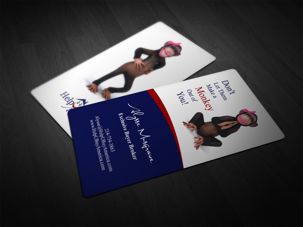 44 business card designs real estate business card design project business card design by asykar design for helpubuy america design 4704165 reheart Images