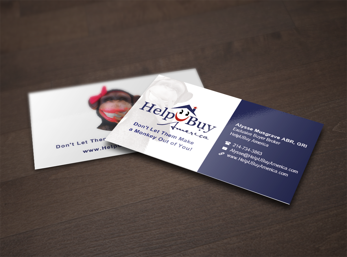 Business card design for helpubuy america by tornado design 4703599 business card design by tornado for helpubuy america needs a business card design design reheart Images