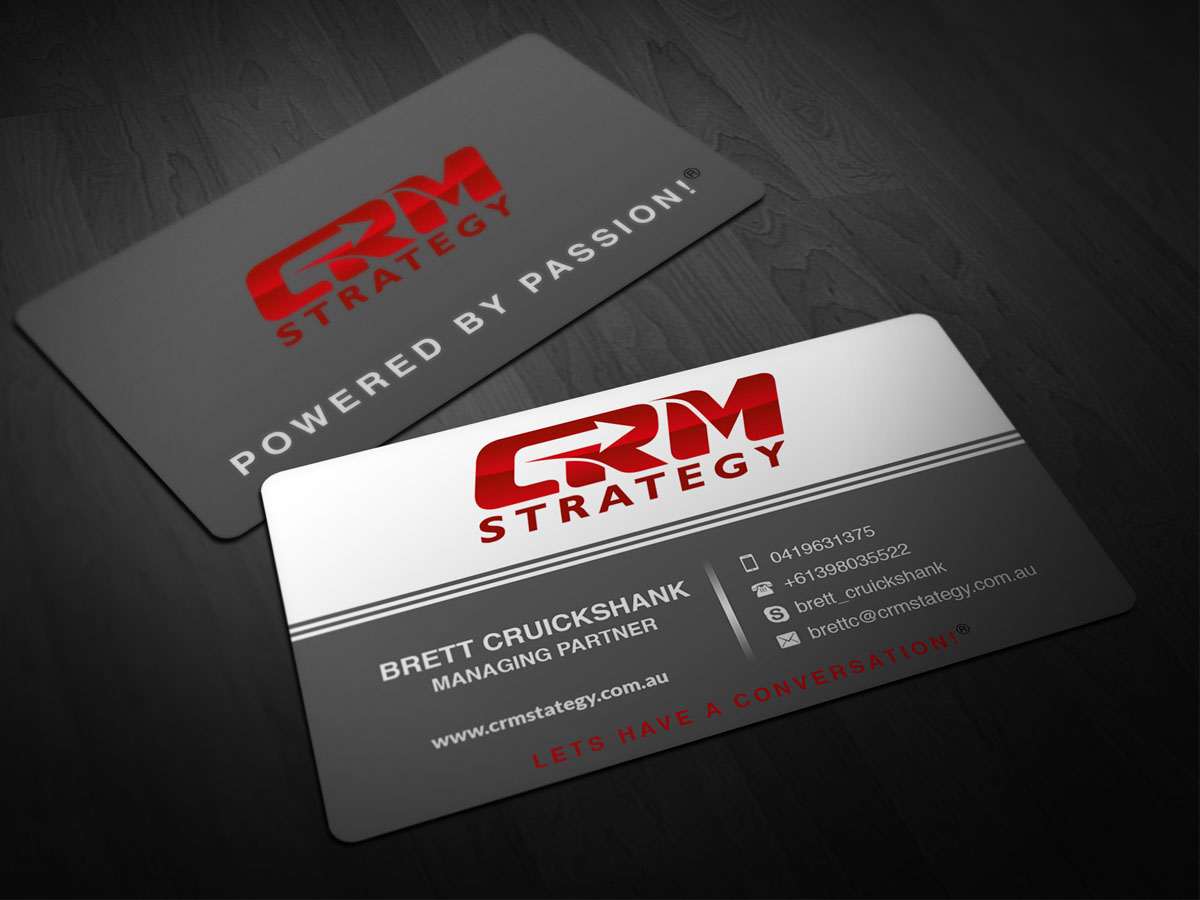 Upmarket traditional business business card design for a company business card design by pointless pixels india for this project design 4621731 colourmoves