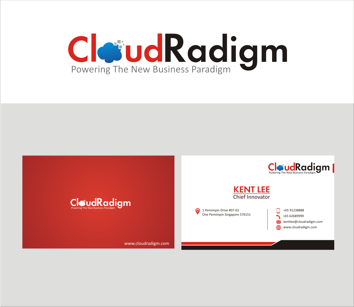 Modern professional software business card design for a company by business card design by java land for this project design 4652498 reheart Gallery