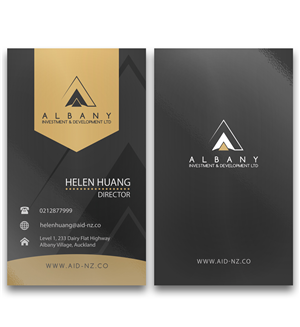 Name Card Design by Mayeka Putra