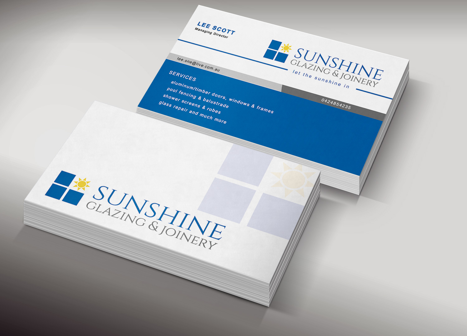 Fencing Business Card Design for a Company by Creation Lanka ...