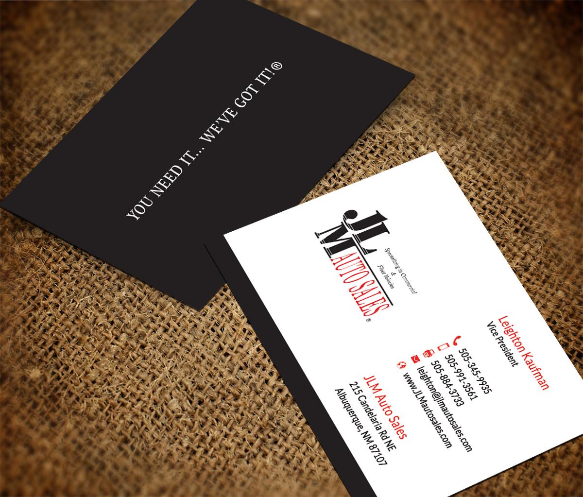 Professional, Masculine, Construction Business Card Design for a ...