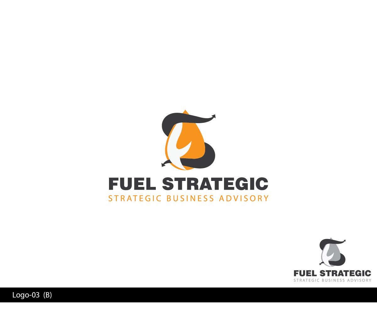 Bold serious business logo design for fuel strategic for Strategic design company