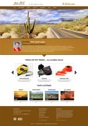 Wordpress Design by Black Stallions - Fresh and Modern Real Estate Land Website
