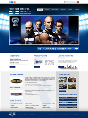Web Design by Mark James