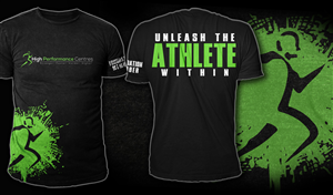 T-shirt Design by Mayonpx.com - Sports Performance Facilty