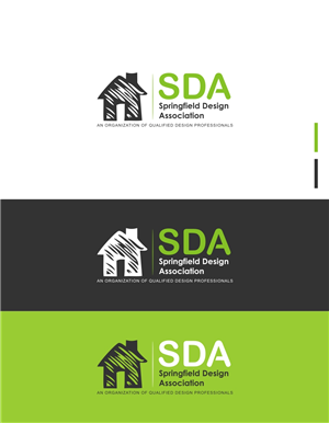 Residential Logo Design for Springfield Design Association