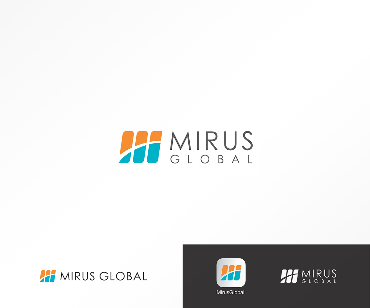 Professional modern investment logo design for mirus for Global design company