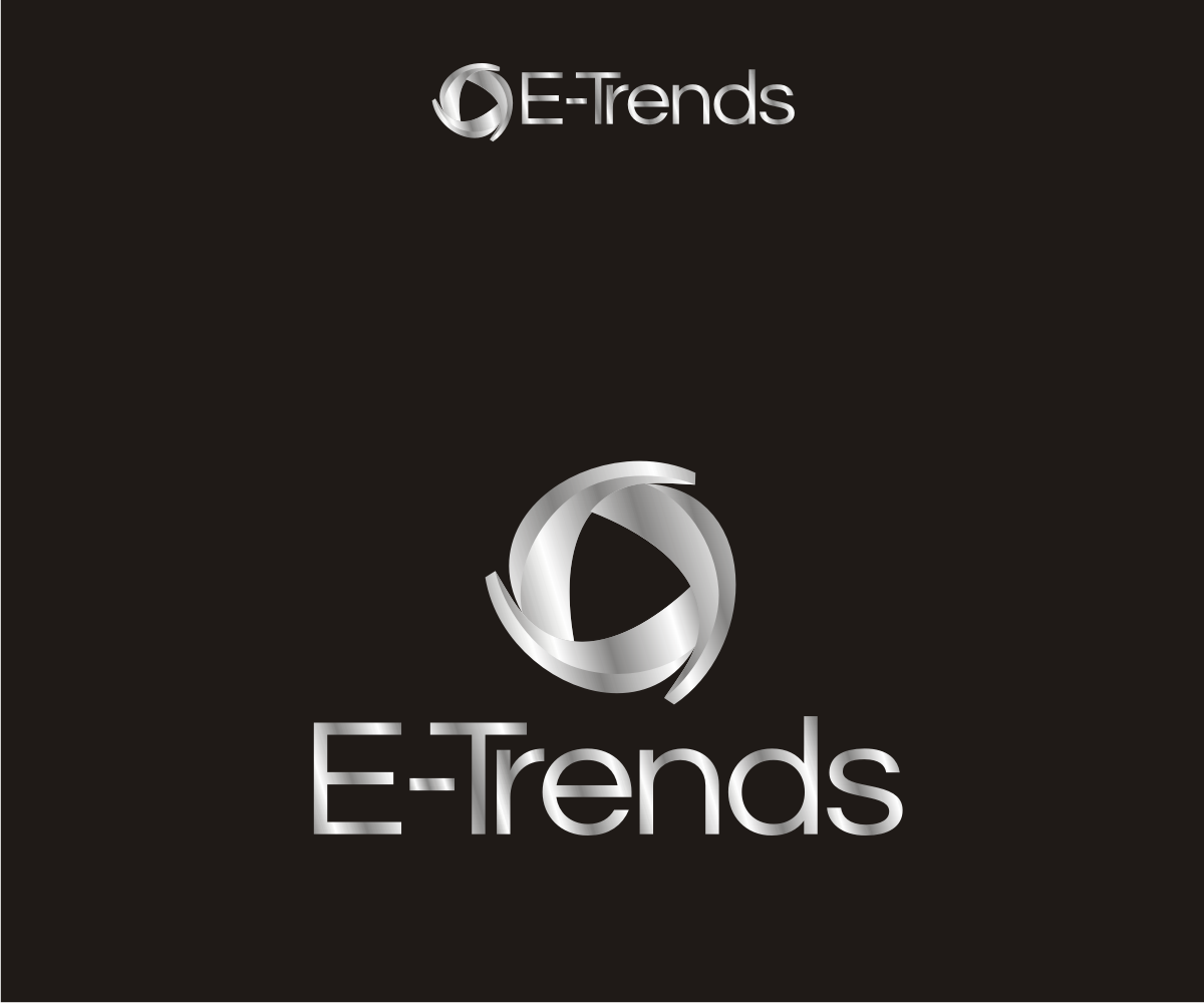 Modern bold cell phone logo design for e trends by r i d for D for design