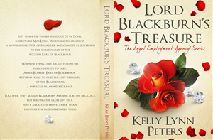 Book Cover Design by Jagstar Design  - Lord Blackburn's Treasure Book cover