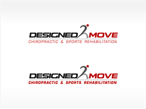 Logo Design by effektmedia. - Designed 2 Move Chiropractic & Sports Rehabilit...