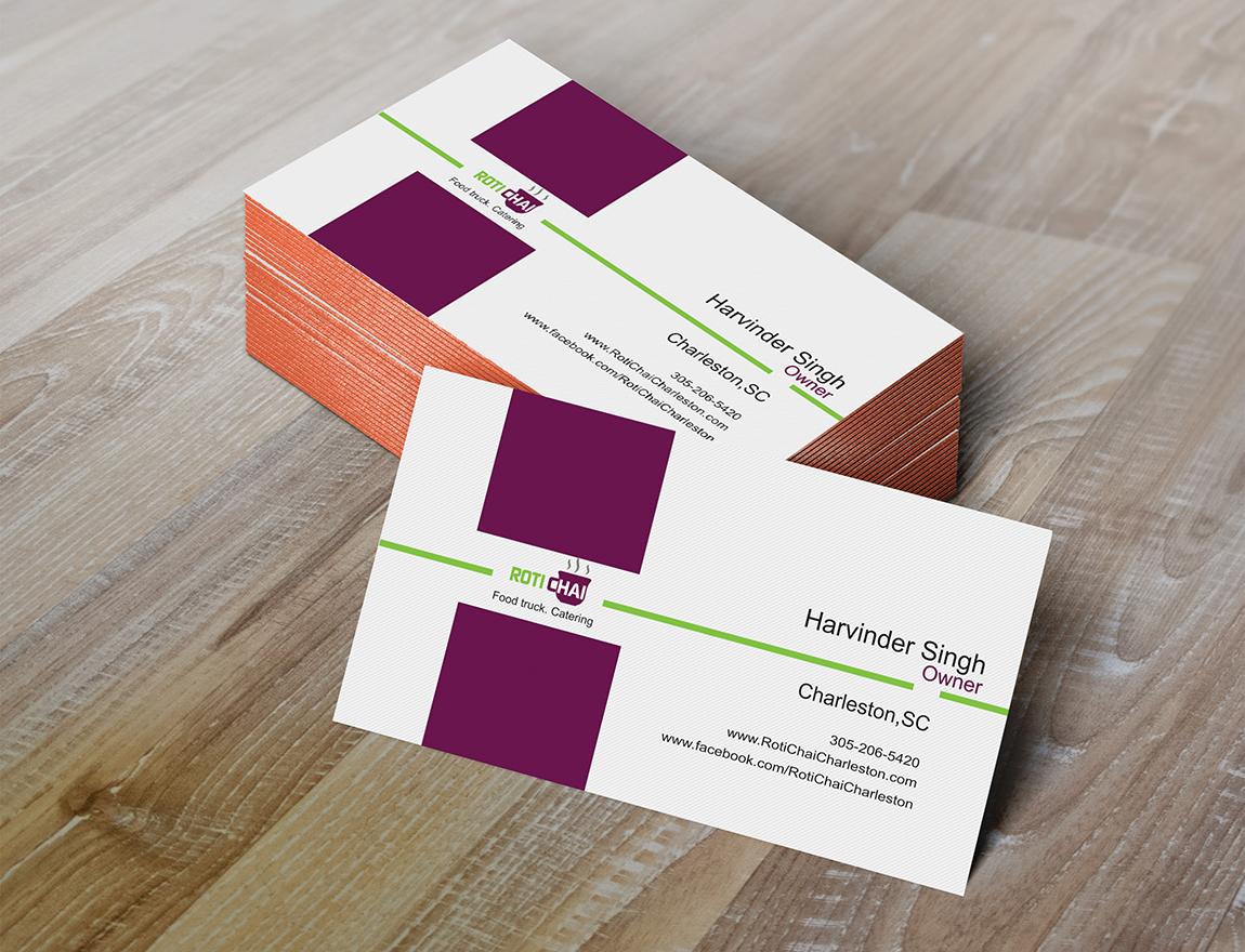 Playful, Modern Business Card Design for Harvey Singh by Adi Toader ...