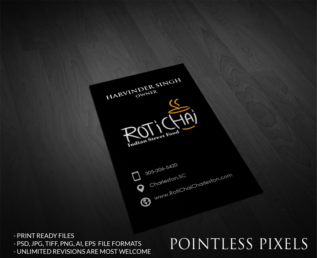 Playful, Modern Business Card Design for Harvey Singh by Pointless ...