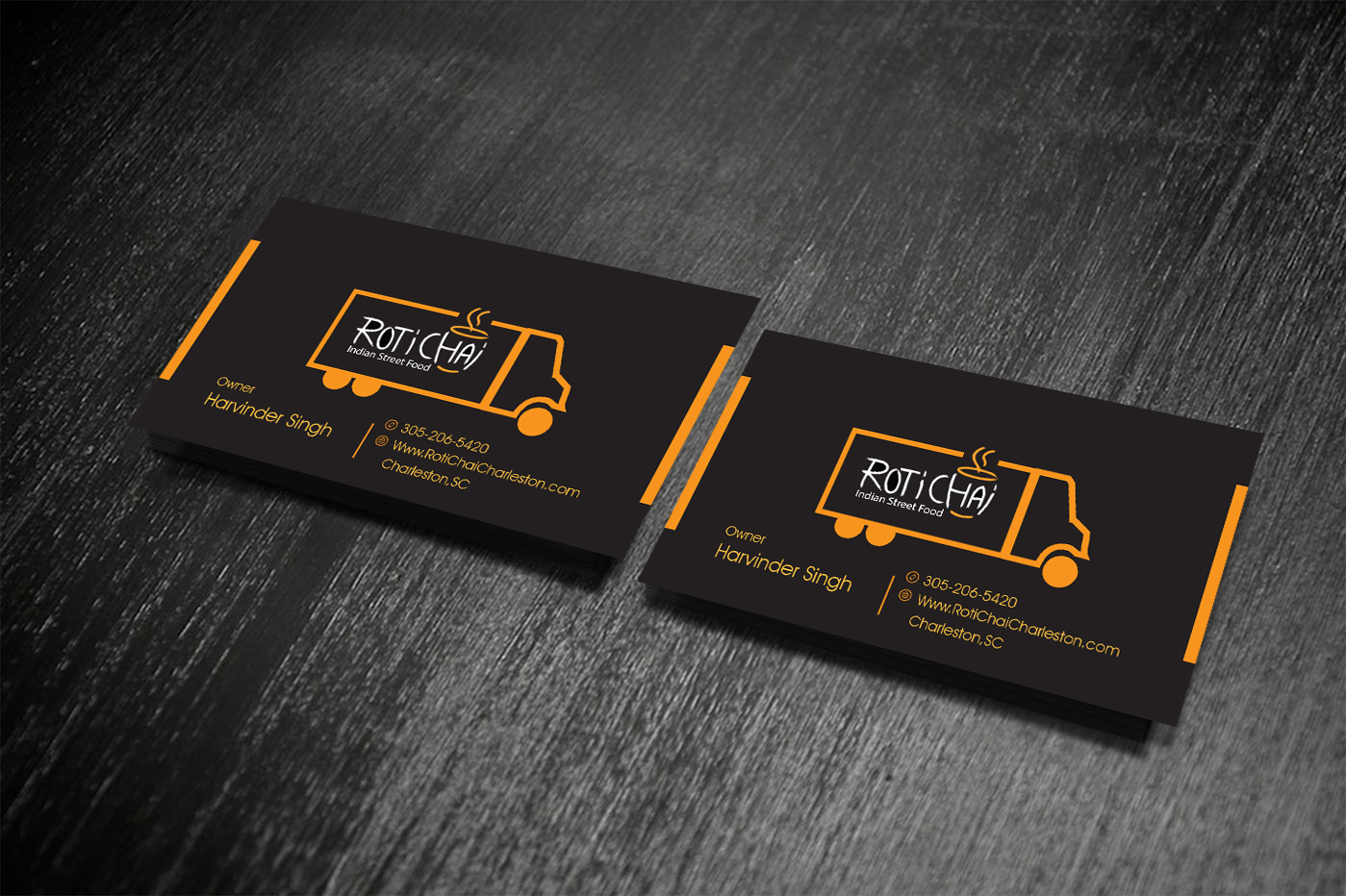 Playful, Modern Business Card Design for Harvey Singh by creative ...