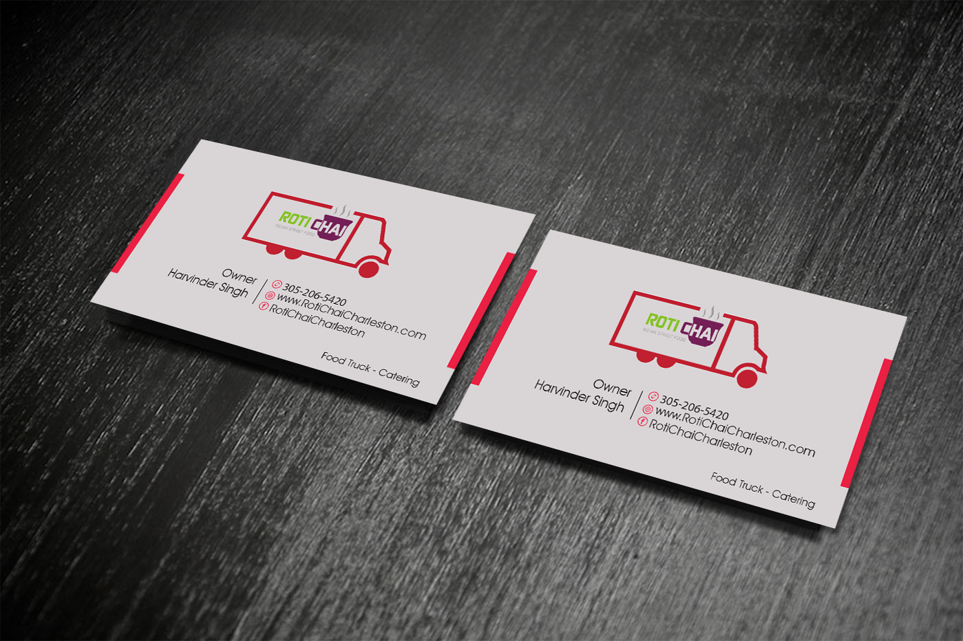 Business Card Design By Creative Vision For This Project